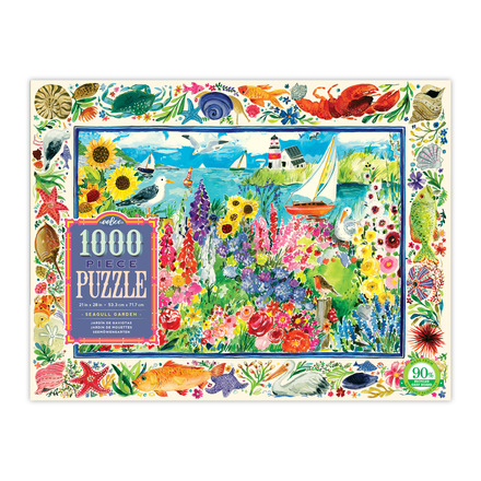 Seagull Garden 1000 Piece Puzzle picture