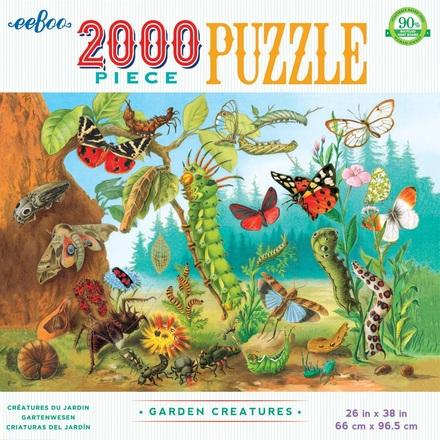 Garden Creatures 2000 Piece Puzzle picture