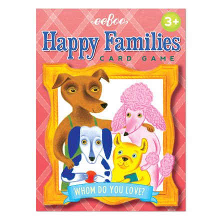 Happy Families Playing Cards picture