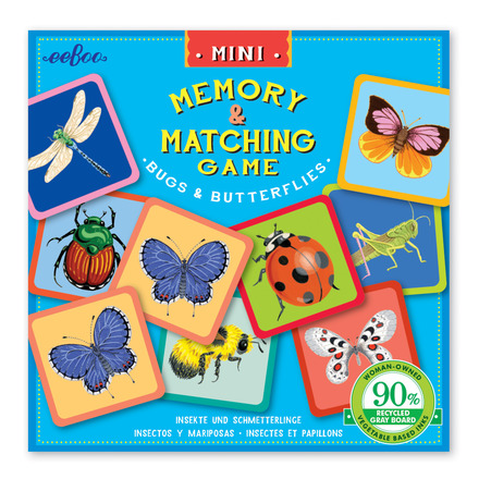 Mini Bugs and Butterflies Memory Game picture