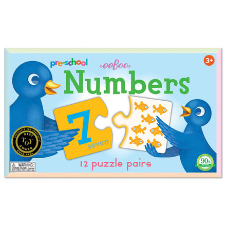Pre-school Numbers Puzzle Pairs picture