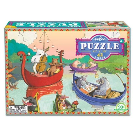 Party on the Lake 42 Piece Puzzle picture