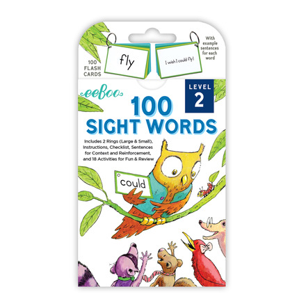 Sight Words Level 2 Flash Cards picture