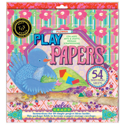 Flowers Play Papers picture