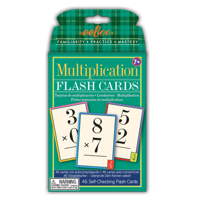 Flash Cards Multiplication EeBoo