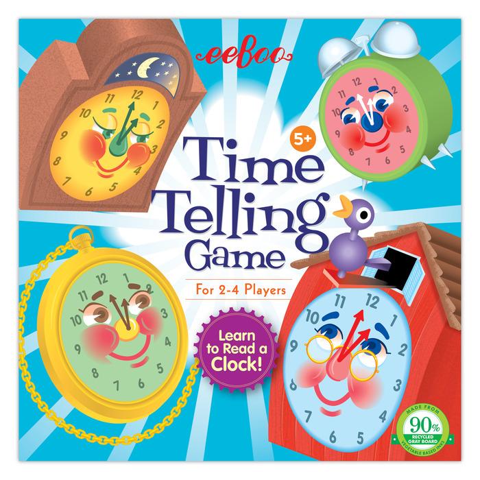 Time Telling Game   eeBoo