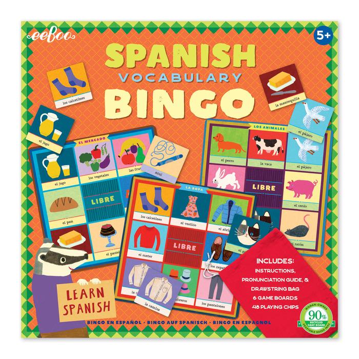 Spanish Bingo Eeboo