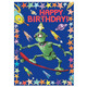 Skater Robot Birthday Card