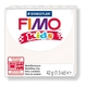 FIMO kids modelling clay, white, box of 8