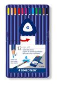 ergosoft® aquarell triangular watercolour pencil, set of 12