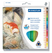 Watercolored pencils 24pk