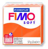 FIMO soft modelling clay, tangerin, box of 6
