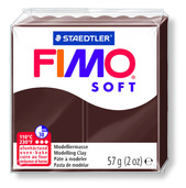 FIMO soft modelling clay, chocolate, box of 6