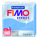 FIMO effect  modelling clay, blue agate, box of 6