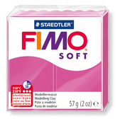 FIMO soft modelling clay, raspberry, box of 6