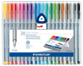 triplus fineliner, set of 20