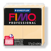 FIMO professional modelling clay, champagne, box of 6