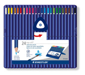 ergosoft aquarell triangular watercolour pencil, set of 24
