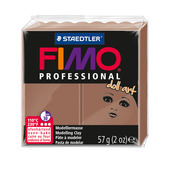 FIMO professional doll art modelling clay, nougat, box of 6