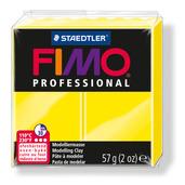 FIMO professional modelling clay, lemon yellow, box of 6