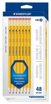 Pencil yellow 48ct box picture