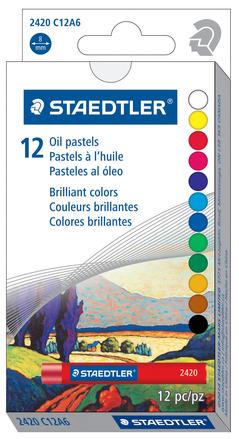 Oil Pastel, 12pk picture