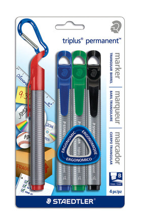 triplus permanent 4pk assorted- Chisel picture