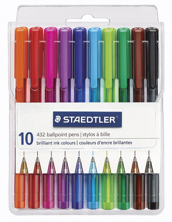 Ball 432 ballpoint pen, Medium, set of 10 picture