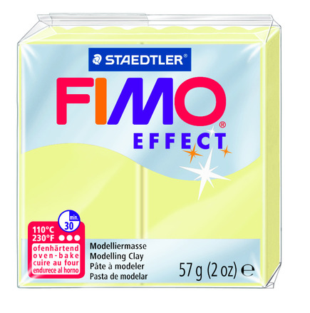 FIMO effect  modelling clay, vanilla, box of 6 picture