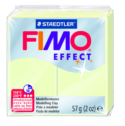FIMO effect  modelling clay, nightglow, box of 6 picture