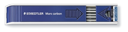 Mars carbon lead, tray of 12 - HB picture