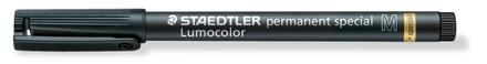 Lumocolor permanent special Medium Black, box of 10 picture