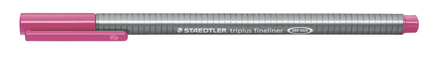 triplus fineliner  0.3mm Magenta, box of 10 picture