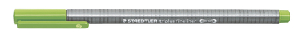 triplus fineliner 0.3mm Light green, box of 10