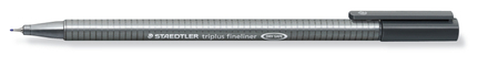 triplus fineliner 0.3mm Grey, box of 10 picture