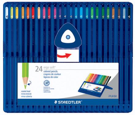 Col.pencil ergo soft 24ct  FSC 100% picture