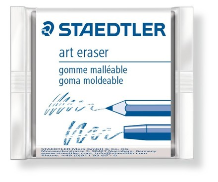 Eraser kneadable, box of 18 picture
