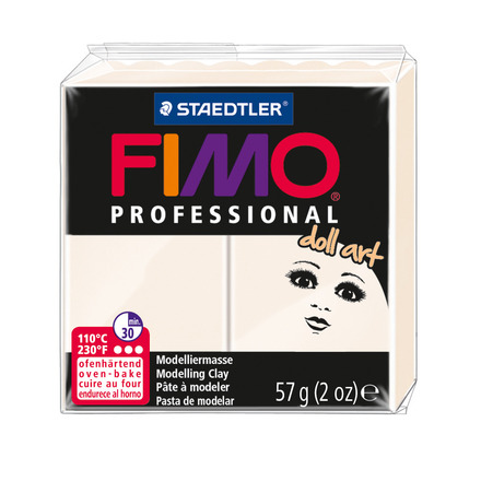 FIMO professional doll art modelling clay, porcelain, box of 6 picture