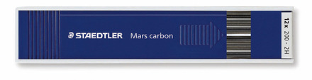 Mars carbon lead, tray of 12 - 2H picture