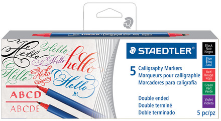 Marker Calligraph duo 5pc set 3T picture