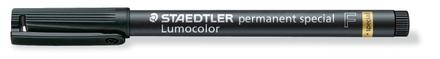Lumocolor permanent special Fine Black, box of 10 picture