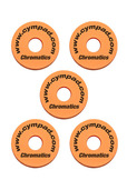 Cympad Chromatics 40/15mm Orange Set