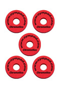 Cympad Chromatics 40/15mm Red Set