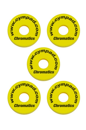 Cympad Chromatics 40/15mm Yellow Set