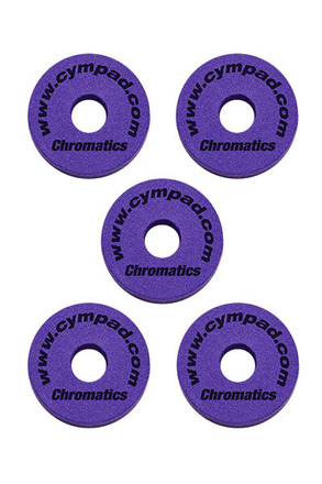 Cympad Chromatics 40/15mm Purple Set