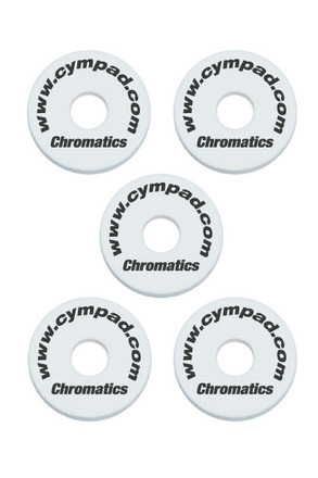 Cympad Chromatics 40/15mm White Set picture