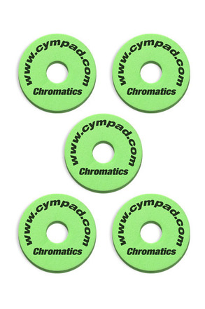Cympad Chromatics 40/15mm Green Set