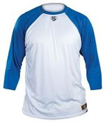 LOOSE-FIT ADULT 3/4 SLEEVE SHIRT