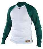 ADULT COMPRESSION FIT RAGLAN SHIRT