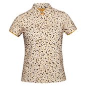 SHORT SLEEVE PRINT POLO